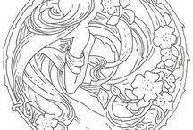 Art Nouveau Patterns Designs  / by Theodora Michailides