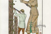 Edwardian Clothing / by Wa-Steampunk in Edo and Meiji