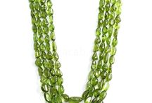 Peridot Beads / Peridot is known as August Birthstone. This board helps to provide important info about Peridot Beads and Jewelry maker can get good idea for making elegant jewelry. / by Beacab Gems