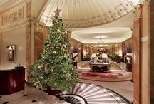 Festive Time  / The Dorchester offers a variety of ways to celebrate Christmas this winter, from special overnight rates and Christmas brunches to festive magicians and floral masterclasses, 'tis indeed the season to be jolly! / by The Dorchester