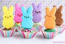 Spring Hop Along PEEPS Party / 23 bloggers and their super sweet PEEPS creations!  / by Betsy | JavaCupcake