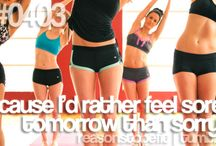 Fitness and motivation / by Sarah Seifert