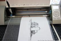 Silhouette/cricut tutorials / by Jessica Barnard