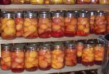 Canning, freezing, preserving, food storage / by Kelly Serfes