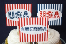 4th of July / A great collection of Printables, DIY Crafts and Delicious Food for 4th of July compiled by Jennifer Kirlin ~ Stylist/Founder for BellaGrey Designs  / by BellaGrey Designs