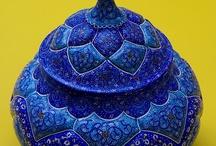 COLOR - Blue / by Lisa Staffaroni