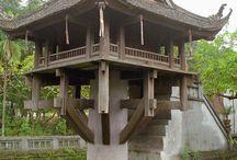 pagodas / by Tittat H