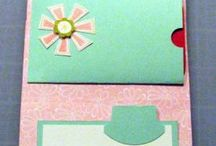 Gift card holders / by Melissa Souliere