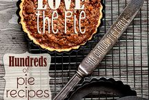 "Pie Recipes / Pie Recipes - Among my many recipe boards, there are separate boards for: ""Breakfast Treats""; ""Cakes and Cupcake Recipes""; ""Quick Breads & Other Dough Recipes"" and ""Cobbler and Polk/Dump Cake recipes"" / by Nancy Thomas"