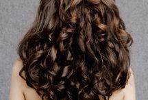 curls curls curls / curly and wavy hair / by Meagan Lohin