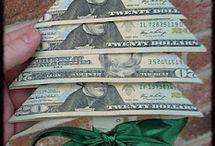 Money folding / by Viola Melcher