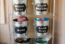 Toy Storage / Organisation / by Karen de Sousa