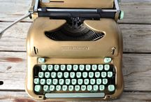 typewriters | love / by julie rybarczyk