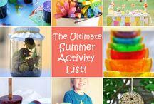 summer activities / by Stephanie Mahoney