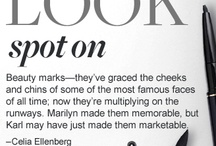 My  Real Beauty MARK is Now a Trend / Beauty Marks on the body and face / by Lashuan Noakes-Chestnut