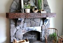 Fireplaces / by Sue Frazier