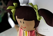 {my dolls} / by Rachelle @ Simple Stitches