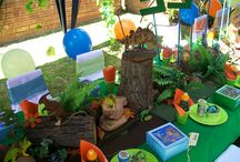 Kids Birthday party ideas / by Lisa Bellot
