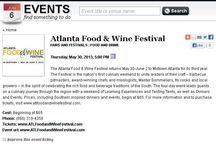 AF&WF in the News / by Atlanta Food & Wine Festival