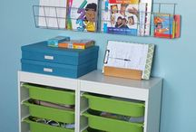 Kids toy storage ideas... we need something! / by Jenna