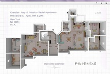 Famous Apartments in 3D / Friends, HIMYM, Dexter....here are our vision of their apartments but in 3D! / by HomeByMe