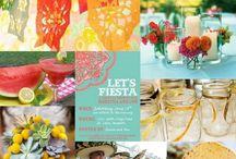 Fiesta Inspiration  / by It's a Shore Thing Wedding & Event Planning