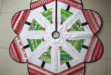 Holiday Tree Quilts / Quilt Tree Holiday / by Eileen Alanna