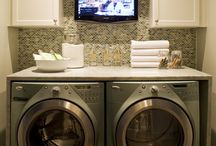 Laundry Rooms / by Melissa Bolinger