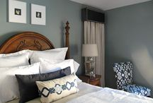 Master Bedroom and bath idea / by Mary Terry