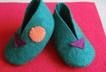 zapatos de fieltro / by Alfalfa Accesorios