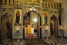 Byzantine Churches / by Alexis Sharif