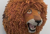 Fiber Art / Amazing artwork created from yarn and fiber. / by Lion Brand