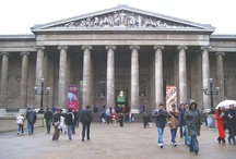♔ The British Museum  / The British Museum was established in 1753, largely based on the collections of the physician and scientist Sir Hans Sloane. It first opened to the public on 15 Jan. 1759 in Montagu House in Bloomsbury, on the site of the current museum. It is dedicated to human history & culture. Its permanent collection, numbering some eight million works, is amongst the largest & most comprehensive in existence & originates from all continents. / by Melissa