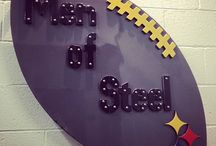 I AM!  Steelers!! / I bleed the BLACK & GOLD!  Been a fan since the 70's, during the Steel Curtain days.  And I'm from Texas! / by Yvette E. Hayes