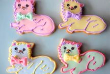 Hand decorated cookies / by Edna Dougary