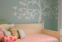 girl's room / ideas for wall decor for a girl's bedroom / by Carol Wolf