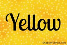 Color Inspiration | Yellow / by Shabby Fabrics