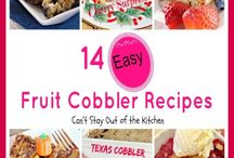 "Cobbler and Polk/Dump Cake recipes / recipes for cobblers, polk cakes, dumb cakes and similar ""goodies""  There are separate boards for: ""Pie Recipes""; ""Breakfast Treats""; ""Cakes and Cupcake Recipes""; and ""Quick Breads & Other Dough Recipes"" / by Nancy Thomas"
