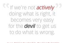 Making Good Habits, Breaking Bad Habits / by Joyce Meyer Ministries