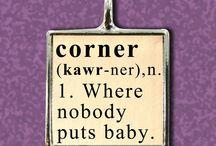 corner / by M G