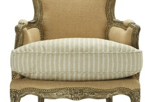 Furniture~Chairs~Benches / Fauteuil & Bergere / by Art by Wietzie