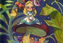Alice in wonderland  / by lucy Lunchbox
