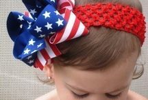 Hair bows / Hair bows  / by Elizabeth Hix