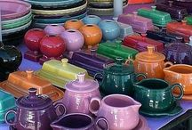 Fiesta! / My love of Fiesta dishes comes from my Grandma Dorti!  I grew up loving all of her bright and colorful salt and pepper shakers, creamers, and butter dishes.  Once I got my own place I also began my own collection of Fiesta.  But my favorite pieces are those she has passed down to me!  I plan on taking pictures of those to pin on my board! / by Mandi Yontz