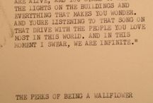 The Perks of Being a Wallflower / by Emily Horn