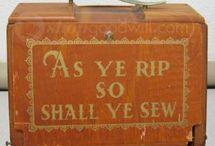 Sewing / by Shepherd's Needle