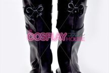 Cosplay Boots/Shoes / Come and get your Cosplay Boots and Shoes!  http://www.cosplayhouse.com/cosplay-boots.html http://www.cosplayhouse.com/Cosplay-Shoe.html / by COSPLAYHOUSE