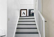 stairway hallway landing / by Posie Star