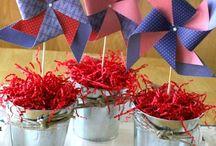 patrotic theme party  / by Sherry Burkman