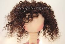 Dolls Hair  / Dolls hair tutorials wigs etc  / by Veronica Smith